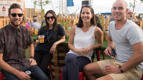 Perth Night Noodle Markets ... the perfect place to pair beer and Asian food