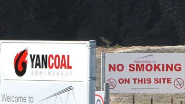 Yancoal is buying Rio's NSW coal mines.