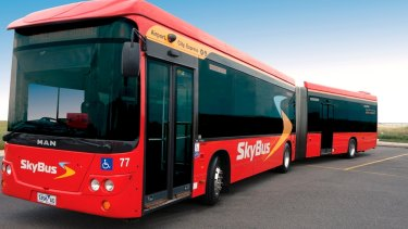 SkyBus's extravagant launch was cancelled on Wednesday.