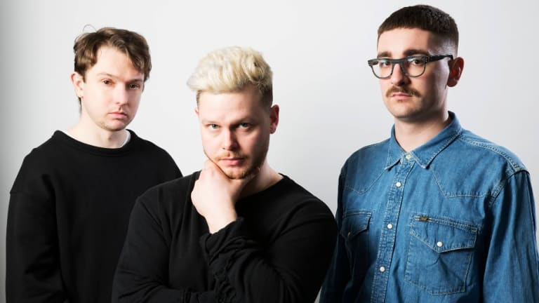 English trio Alt-J didn't miss a note through their 75-minute set.