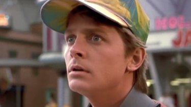 The future wasn't all bad as depicted in 1989. Michael J Fox in Back to the Future Part II.