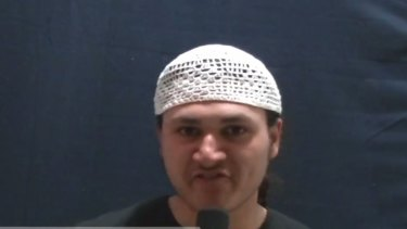 Sulayman Khalid, who has pleaded guilty to terrorism offences.