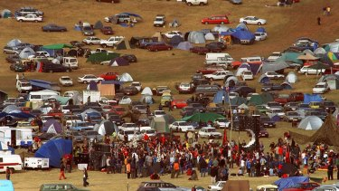 A woman died at the dance festival Earthcore.