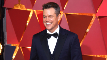Matt Damon defended himself by saying he had daughters.