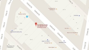 Still listed: The Shift Bar & Club on Google Maps.