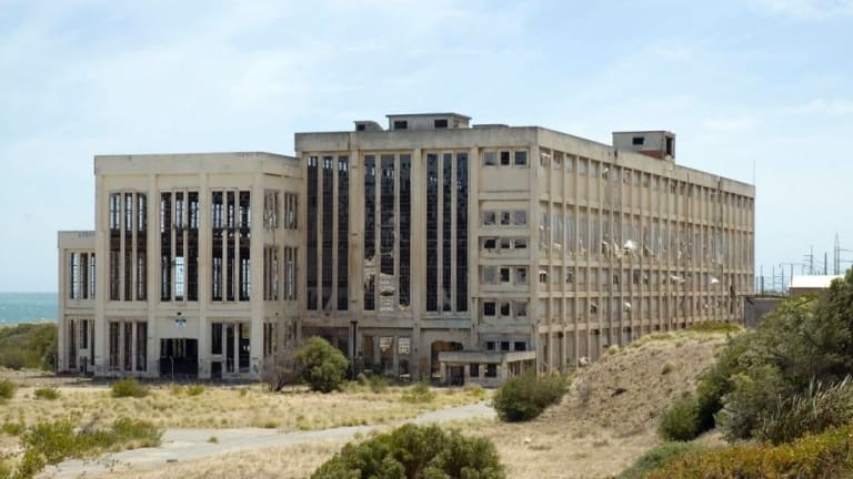 A man died after falling from second floor of the old South Fremantle Power Station.