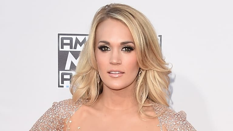 Carrie Underwood has revealed she received over 40 stitches on her face following a fall at home in November.