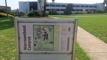 Deakin University's Warrnambool campus is under threat.
