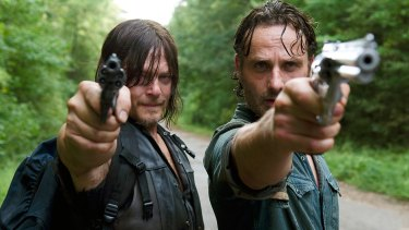 Walking Dead fave Daryl (Norman Reedus, left) will be a guest at the first local Walker Stalker convention.
