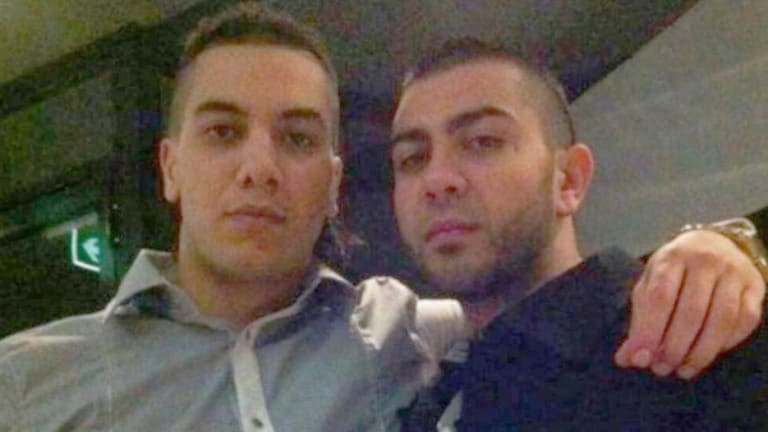 Mahmoud Hamzy (left) was shot dead during the Brothers for Life conflict in 2013. Omar Ajaj, (right) was injured but survived.