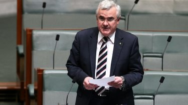 """Independent MP Andrew Wilkie: """"Bad things happen when people are forced into silence."""""""