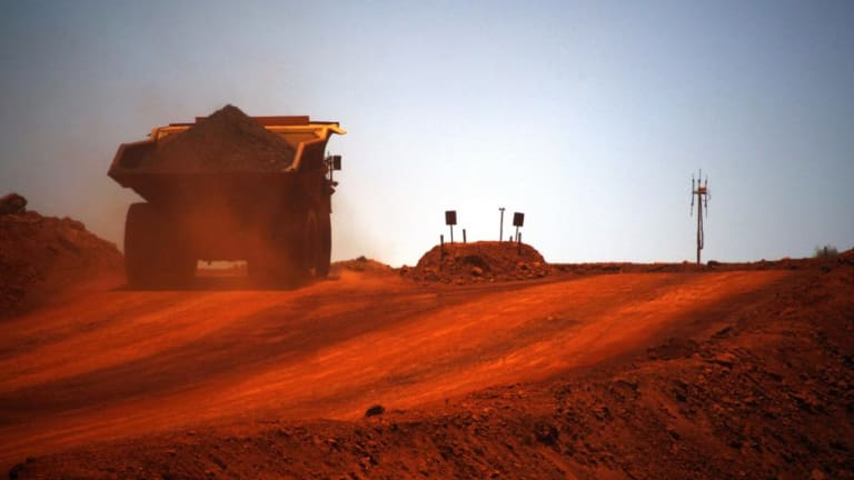 Ramping up: By next year, Australia's iron ore production is expected to be 50 per cent higher than in 2012, thanks mainly to the expansion of production capacity in the Pilbara.