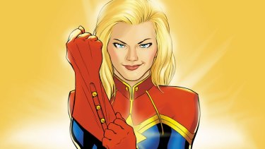 Marvel's Captain Marvel, a film role that was reportedly offered to Emily Blunt and Olivia Wilde.