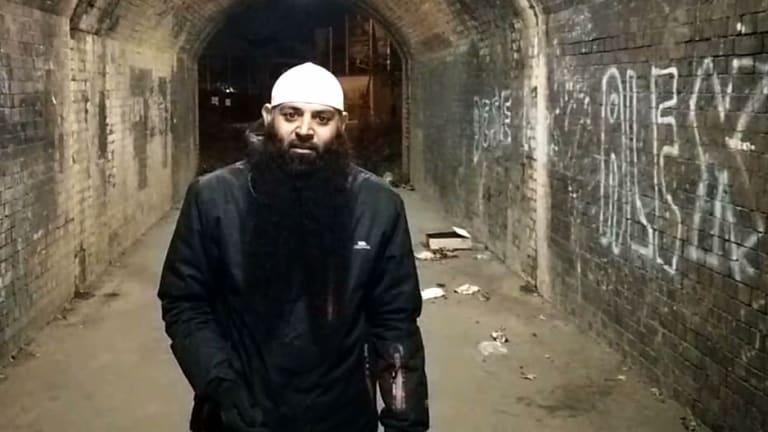 Abu Haleema in a YouTube video.