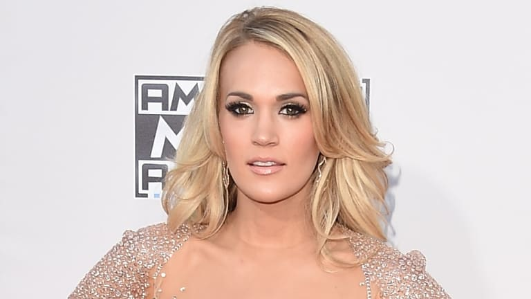 Carrie Underwood suffered a fall at home in November.