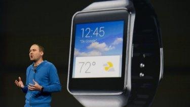 The Google Samsung smartwatch.