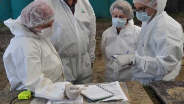 Intensive forensics work has gone into identifying the remains found at Fromelles.