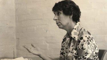Joyce Stevens.