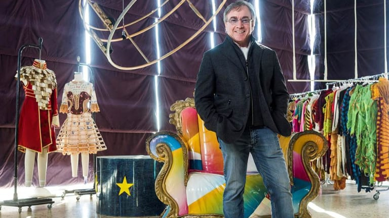 President and CEO of Cirque du Soleil, Daniel Lamarre, says the company is raking in more than $US1 billion in revenue annually.