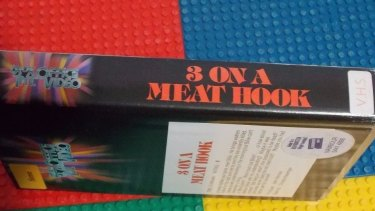This ex-rental video nasty, 3 on a Meat Hook, will set you back $399.