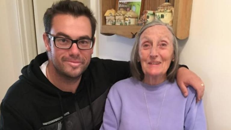 Perth Rob Nixon's YouTube cooking show Nicko's Kitchen has gotten more than 1 million subscribers. Rob is pictured here with his Nana who got him into cooking.