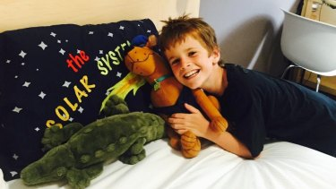 Banjo Pilon, 10, died in hospital after an accident at Wamberal on the NSW Central Coast.