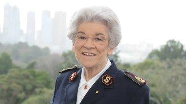 General Eva Burrows.