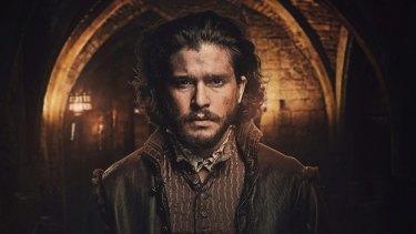 Kit Harrington in the new BBC Drama Gunpowder.