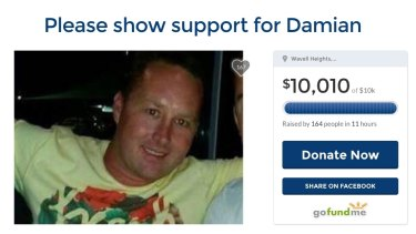 A crowdfunding effort reached its $10,000 goal in 11 hours.