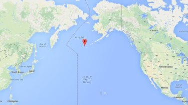 Aleutian Islands, in Alaska, could have played a part in mixed marriages.