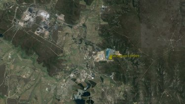 Springvale Mine, including one of its main discharge points LDP009 on the Coxs River.