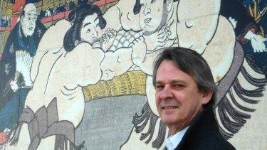 Murray Johnson loves calling the sumo wrestling in Japan.