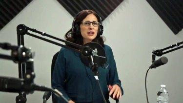 "Online platform: ""Serial"" creator Sarah Koenig."