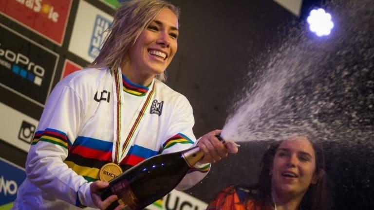 Canberra BMX queen Caroline Buchanan wants to win her eighth world title.