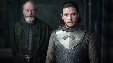 Ser Davos chooses the 'Keep It Simple Stupid' philosophy, while any hope of a kiss between Jon Snow and Daenerys is lost on politics.