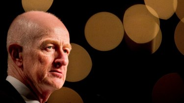 Jawboning: RBA governor Glenn Stevens has said the RBA will give plenty of warning if it decides on a different course for interest rates.