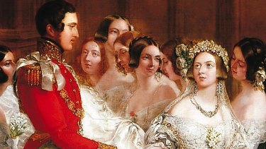 "Despite being Queen of the United Kingdom of Great Britain and Ireland, Victoria chose to keep the world ""obey"" in  her marriage service. She also dismissed the objections of her mother  and prime minister and insisted that Albert sleep under her roof the night before the wedding."