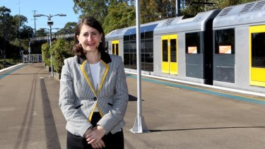 "Transport Minister Gladys Berejiklian says 28 stations will be ""refreshed""."