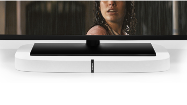 The new Sonos Playbase soundbar is designed to hide under your television and give your lounge room an audio overhaul.