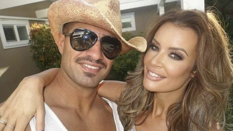 Accused George Gerges and his girlfriend Emma Rose.