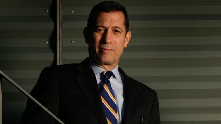 Georgetown University terrorism expert Bruce Hoffman during a visit to Sydney in 2007.