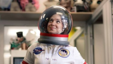 US spaceflight historian, author and fast-rising YouTube star Amy Shira Teitel.