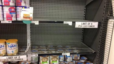 Baby formula shortage: Growing pressure on Woolworths to