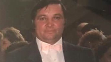 Zvonimir Petrovski at his son's wedding in 1990.