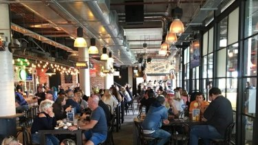The new Whitfords Brewing Company can accomodate 750 guests.