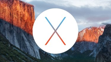 Apple's latest operating system, OSX El Capitan.