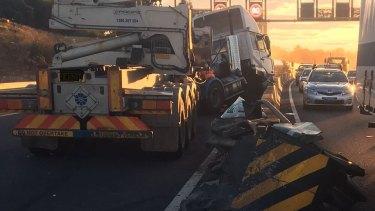 Sydney traffic: Crash closes M5 westbound during evening peak