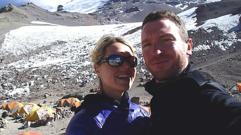 Maria died on a climb to the summit of Mount Everest.