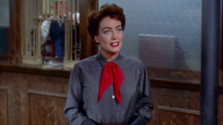 Joan Crawford in the 1954 film Johhny Guitar.