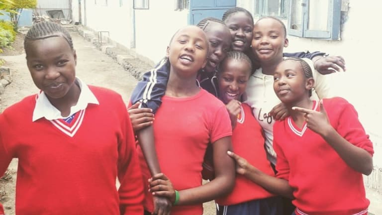 Rafiki Mwema is a charity in Kenya that rescues and educates young girls who have been victims of abuse.